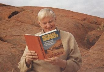 Len Beadell reading Outback Highways